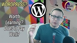 WordPress - Is WordPress Worth Learning? Does WordPress Pay Well? | Ask a Dev