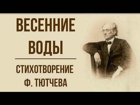 «Весенние воды» Ф. Тютчев. Анализ стихотворения