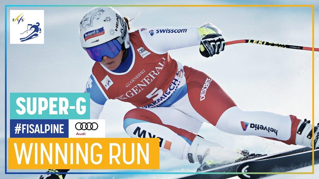 Corinne Suter Wins Garmisch-Partenkirchen Super-G