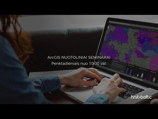 Duomenų analizė su Web AppBuilder