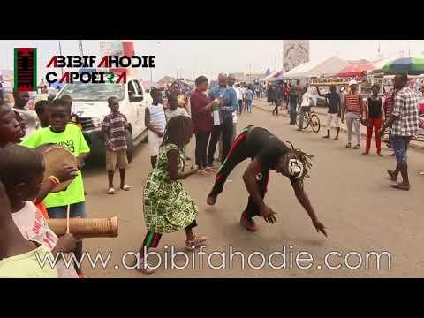 Capoeira with Children in Jamestown (Chale Wɔte 2018)