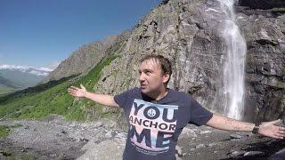 Руслан Гугкаев путеводитель по Осетии, Мидаграбинские водопады(Чтобы найти Мидаграбинские водопады можно ввести координаты в любой навигатор 42.77674 44.36602 или 42°46′36.28″N..., 2016-07-01T12:42:48.000Z)