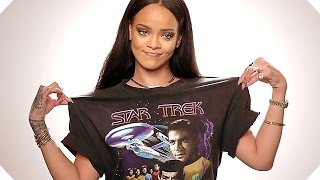 Why RIHANNA Loves STAR TREK + BEYOND Final Trailer (2016)