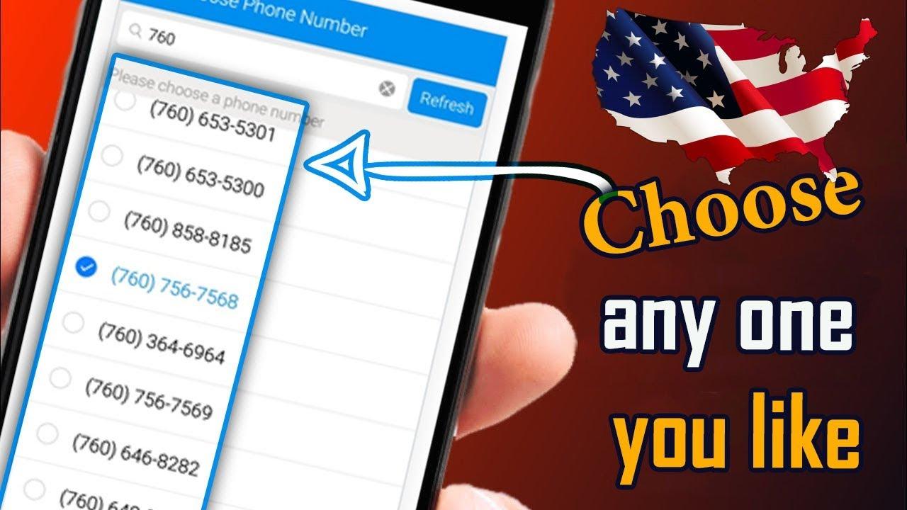 الحصول على رقم امريكي - طريقة الحصول على رقم امريكي لاجراء مكالمات مجانية 2019