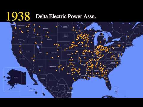 Electric Cooperative Growth 1914 - Present