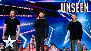 This performance is on FIRE! The Firefighters LIFT us all with GLOWING vocals! BGT: UNSEEN