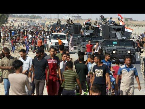 العراق: فرار نحو 100 ألف كردي من كركوك خشية المعارك  - نشر قبل 39 دقيقة