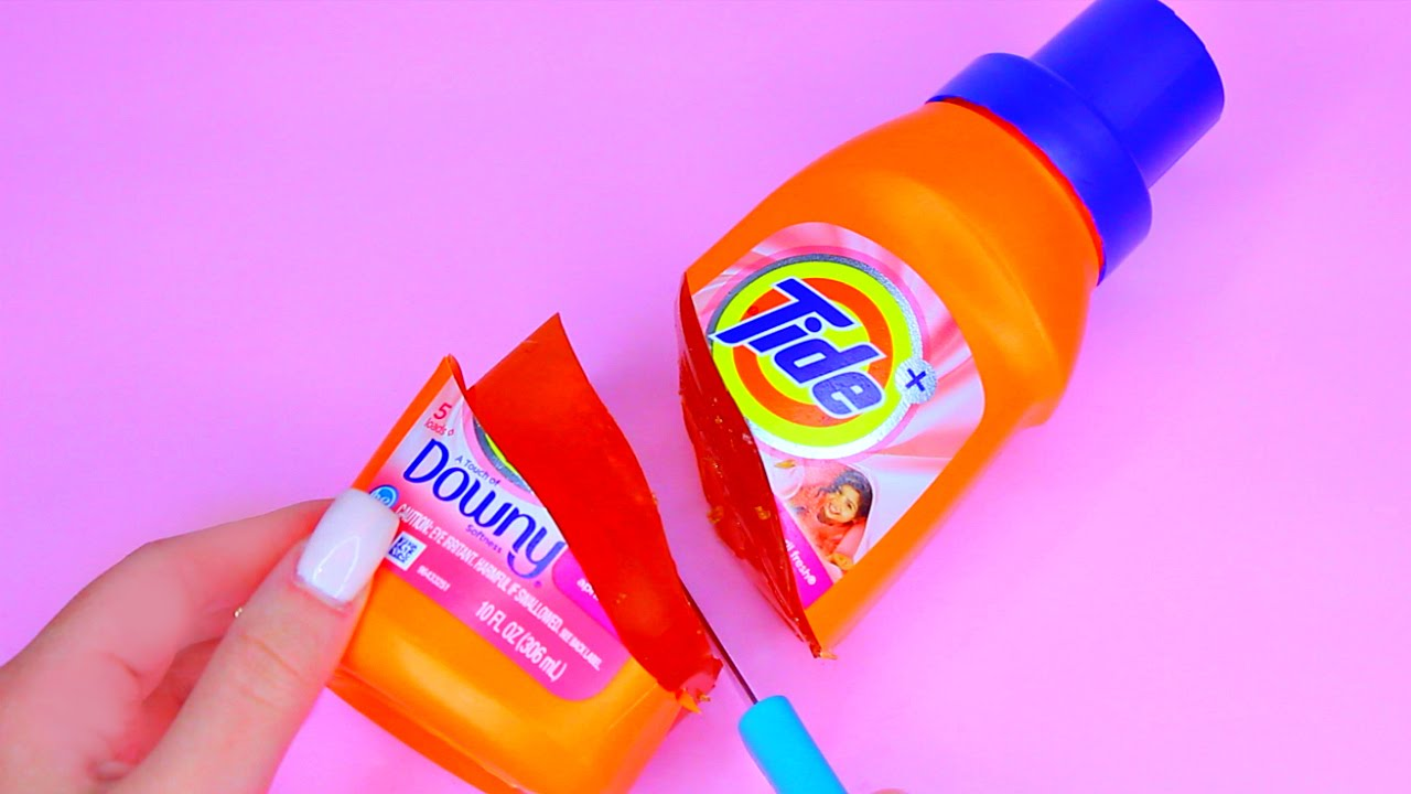 How To Make Real Tide Detergent Laundry Pudding Jelly Toy