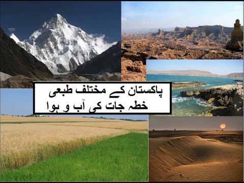 Pak Studies, L 14 پاکستان کی آب و ہوا