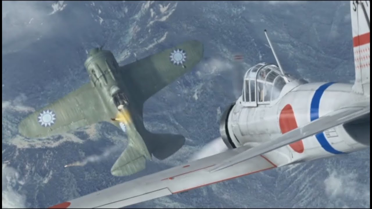 Download Air Strike - Japan Vs China WW2 Air Combat.  Chinese Bruce Willis Movie.