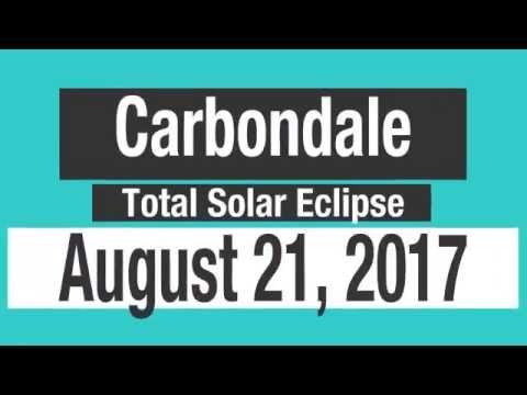 2017 Total Solar Eclipse Carbondale