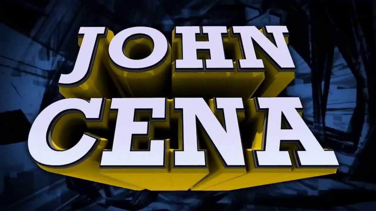 john cena quot2013quot the time is now entrance video arena
