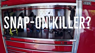 Snap-ON Killer!  Icon Tool Cabinet from Harbor Freight (Hands On Review)