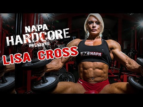 FEMALE BODYBUILDER | IFBB PRO LISA CROSS | TRAINING AT NAPA GYM