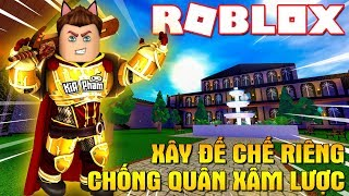Roblox | The SAME BUILDING a PRIVATE EMPIRE VAMY DEFEATED the INVADERS-2 Player Kingdom Tycoon | Kia Breaking
