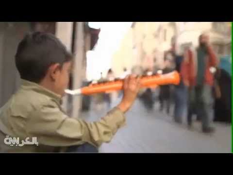 Music from a Syrian Refugee Child