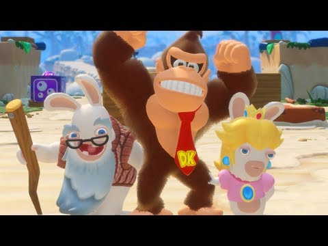 Answering YOUR Questions About DK DLC! Mario + Rabbids Developer Interview