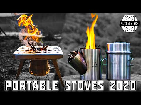 Top 10 Rocket Stoves And Portable Cooking Tops To Keep You Fed In The Woods