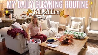 MY DAILY CLEANING ROUTINE *FALL EDITION* | DECORATE FOR FALL WITH ME | Tara Henderson