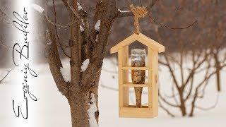Зимний фуршет из стекла и палок
