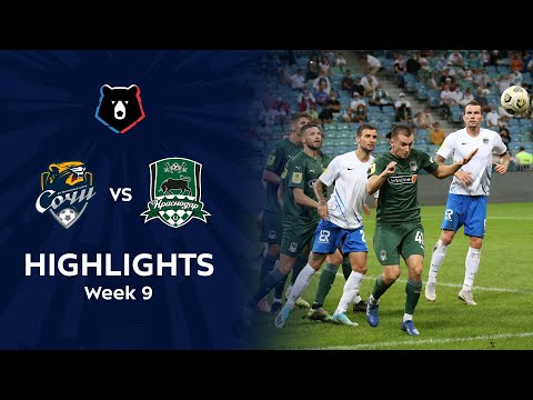Sochi Krasnodar FK Goals And Highlights