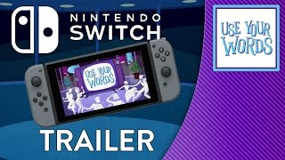 Use Your Words is coming to Nintendo Switch!