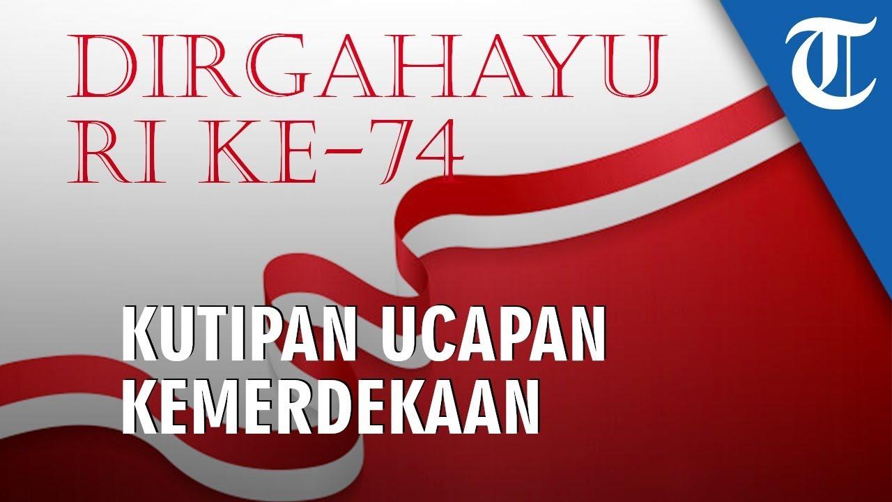 5 Gambar Keren HUT RI Ke 74 Atau Hari Kemerdekaan Indonesia