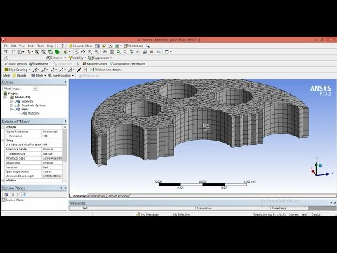 8. Ansys Multizone Meshing For Beginners