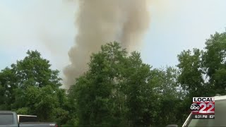 Forest fire continues to burn in North Country