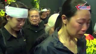 Nghẹn lòng tiễn đưa thiếu tá Nguyễn Thành Trung về đất mẹ