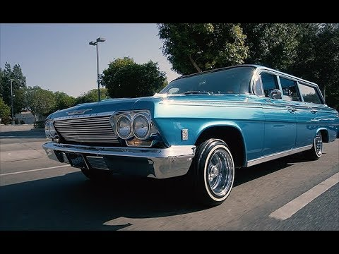 1962 Chevrolet Impala Wagon by Stephanie Bueno - LOWRIDER Roll Models Ep. 32
