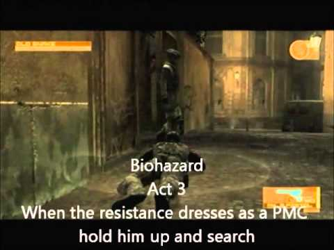 Metal Gear Solid 4 Trophy Guide The sounds of the battlefield