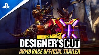 Borderlands 3: Designer's Cut - Arms Race Official Trailer | PS4