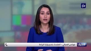 أسراب الجراد  تتحرك قرب الأردن  - (21/2/2020)