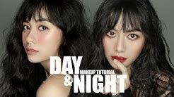 DAY & NIGHT Makeup Tutorial | BIẾN HOÁ TRONG 1 NỐT NHẠC | Phát Phát & VieVie