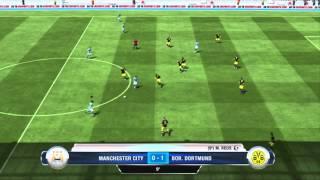 FIFA 13 Demo | My First Game | Manchester City vs. Borussia Dortmund