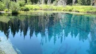 Little Crater Lake Near Mt. Hood Oregon