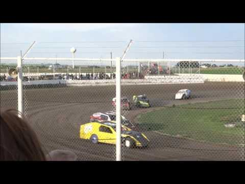 I-76 Speedway - Modified Heat Races 1 & 2 - July 16, 2016