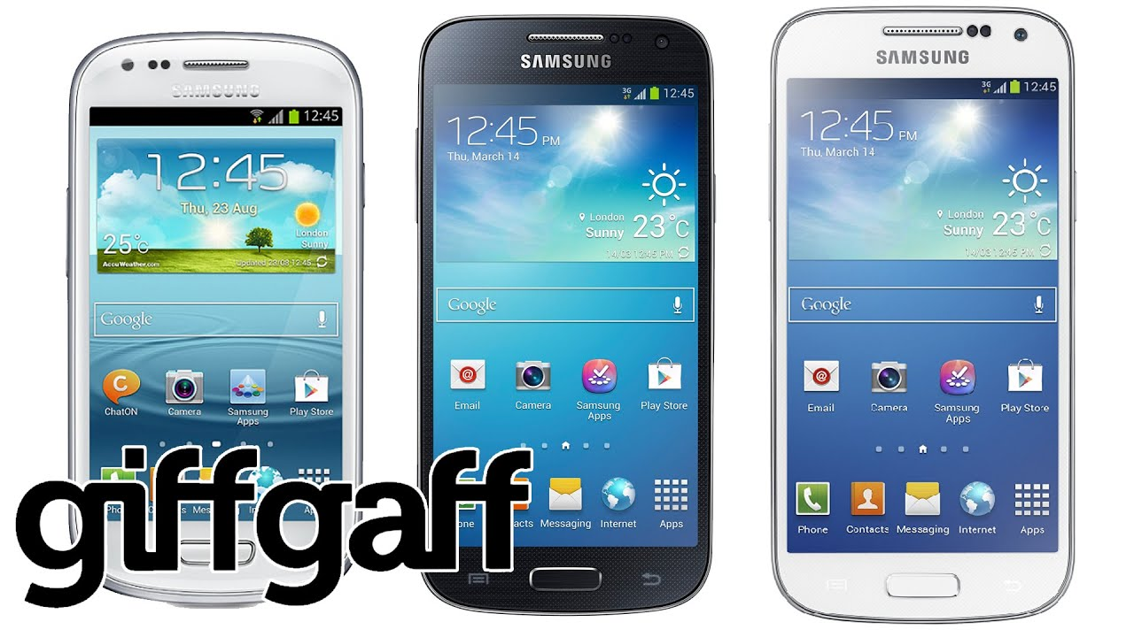 samsung galaxy s3 mini vs s4 mini vs s5 mini giffgaff. Black Bedroom Furniture Sets. Home Design Ideas