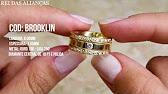 Alianças em Ouro 18k modelo Valentines - Cód. 614 - Rei das Alianças ... 5b99585f76