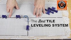 The Best Tile Leveling System for Bathroom Tile -- by Home Repair Tutor