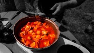 Пельмени в томате. Необычные рецепты на ужин. Как приготовить пельмени без воды