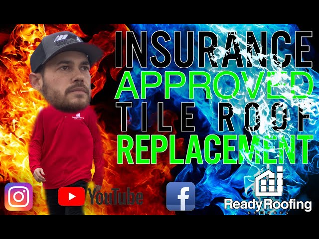 Ready Roofing - Insurance Approved Tile Replacement