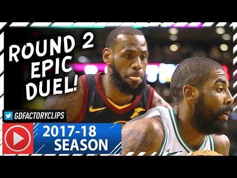 Kyrie Irving vs LeBron James ROUND 2 Duel Highlights (2018.01.03) Celtics vs Cavaliers - TOO SICK!