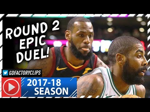 Kyrie Irving vs LeBron James ROUND 2 Duel Highlights (2018.01.03) Celtics vs Cavaliers - TOO SICK!