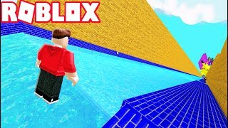 THE BIGGEST 99,999 FEET SLIDE IN ROBLOX!