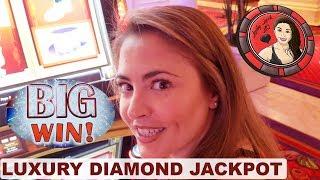 LUXURY DIAMOND JACKPOT on NEW MONOPOLY SLOT MACHINE at ENCORE LAS VEGAS
