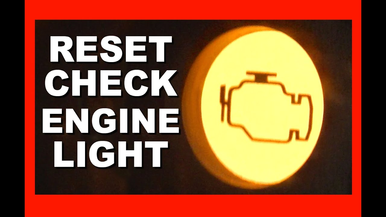 How To Reset Your Check Engine Light with no special tools