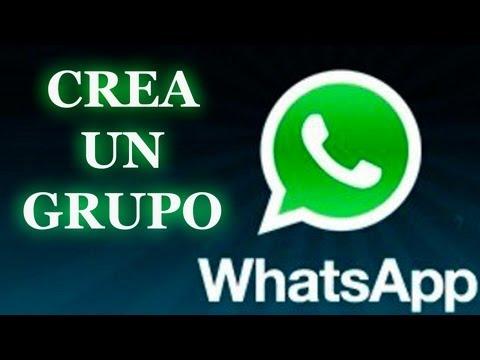 Tutorial crear un grupo de whatsapp