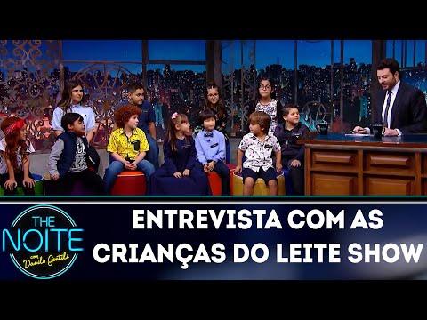 Entrevista com Crianças do Leite Show  The Noite 111018